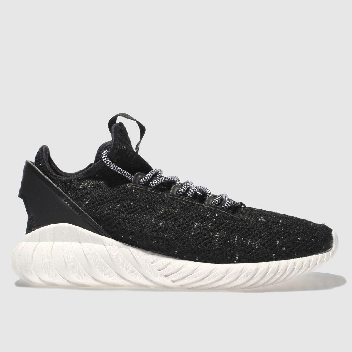 adidas black tubular doom sock primeknit trainers