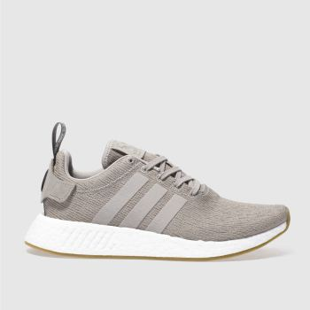 Adidas Beige Nmd_R2 Mens Trainers