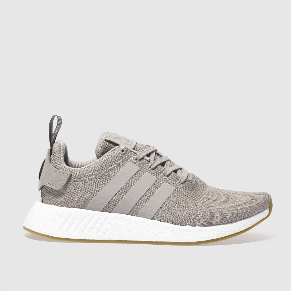 adidas taupe nmd_r2 trainers