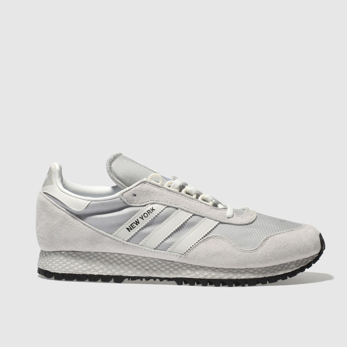 Adidas Light Grey New York Trainers