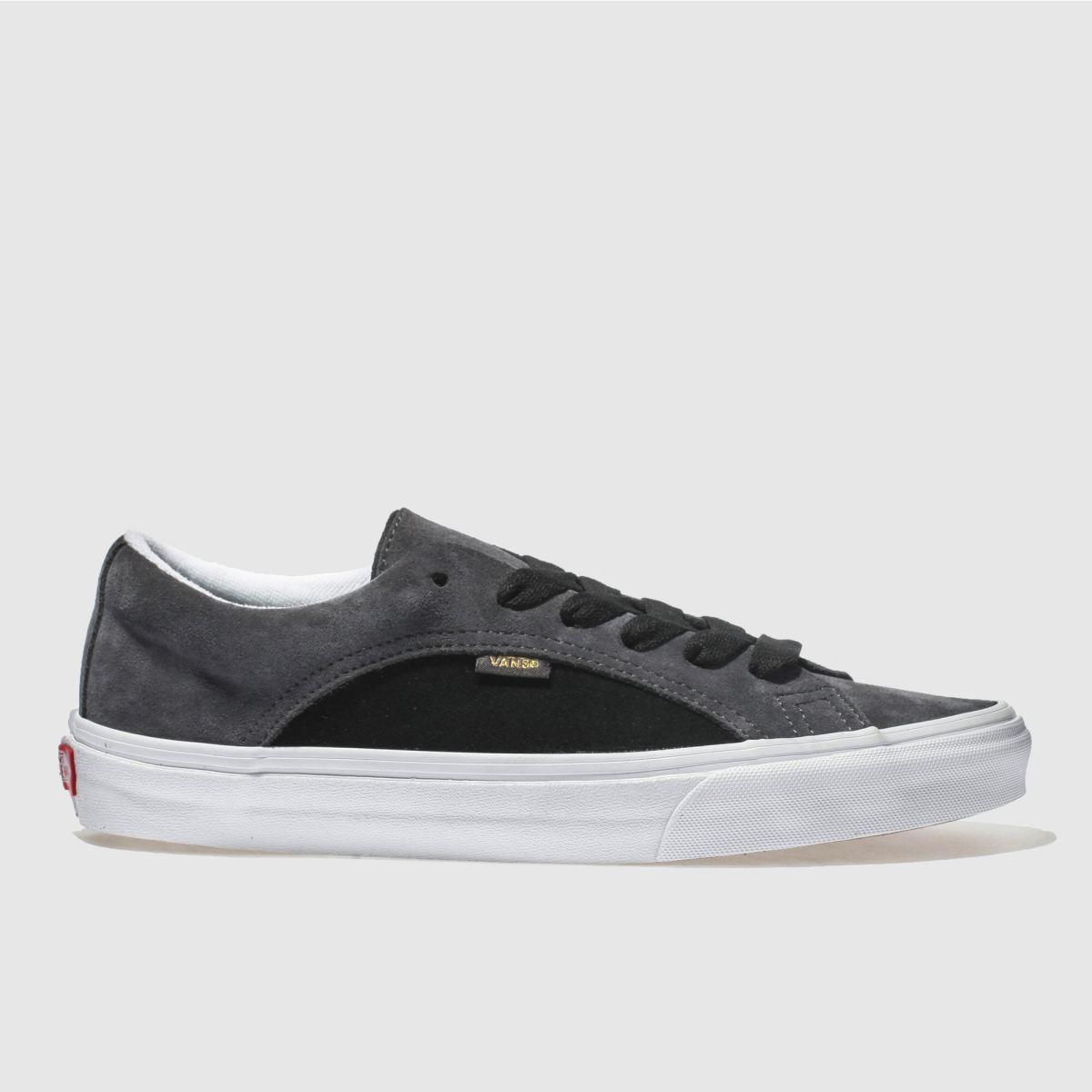 Vans Black & Grey Lampin Trainers