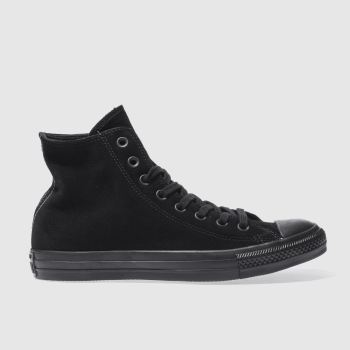 Converse Black All Star Hi Mens Trainers