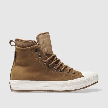 Converse Tan All Star Waterproof Boot Hi Mens Trainers