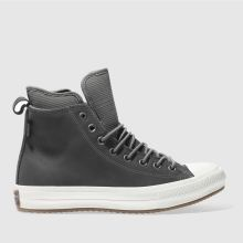 Converse Grey All Star Waterproof Boot Hi Mens Trainers
