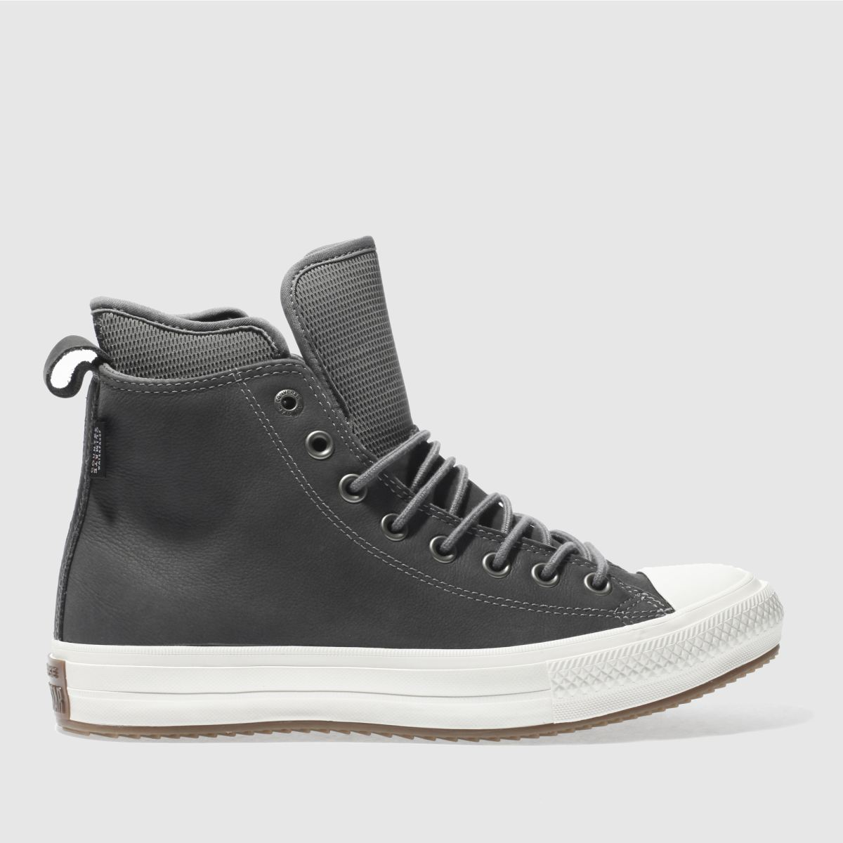 converse grey all star waterproof boot hi trainers