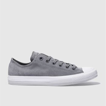 Converse Silver All Star Lo Mens Trainers