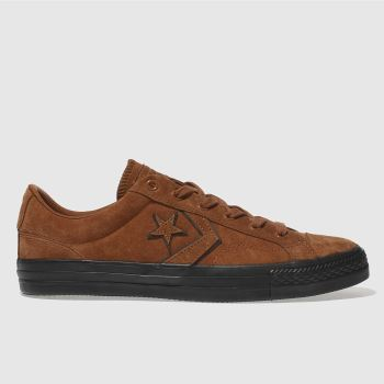 Converse Brown Star Player Ox Mens Trainers