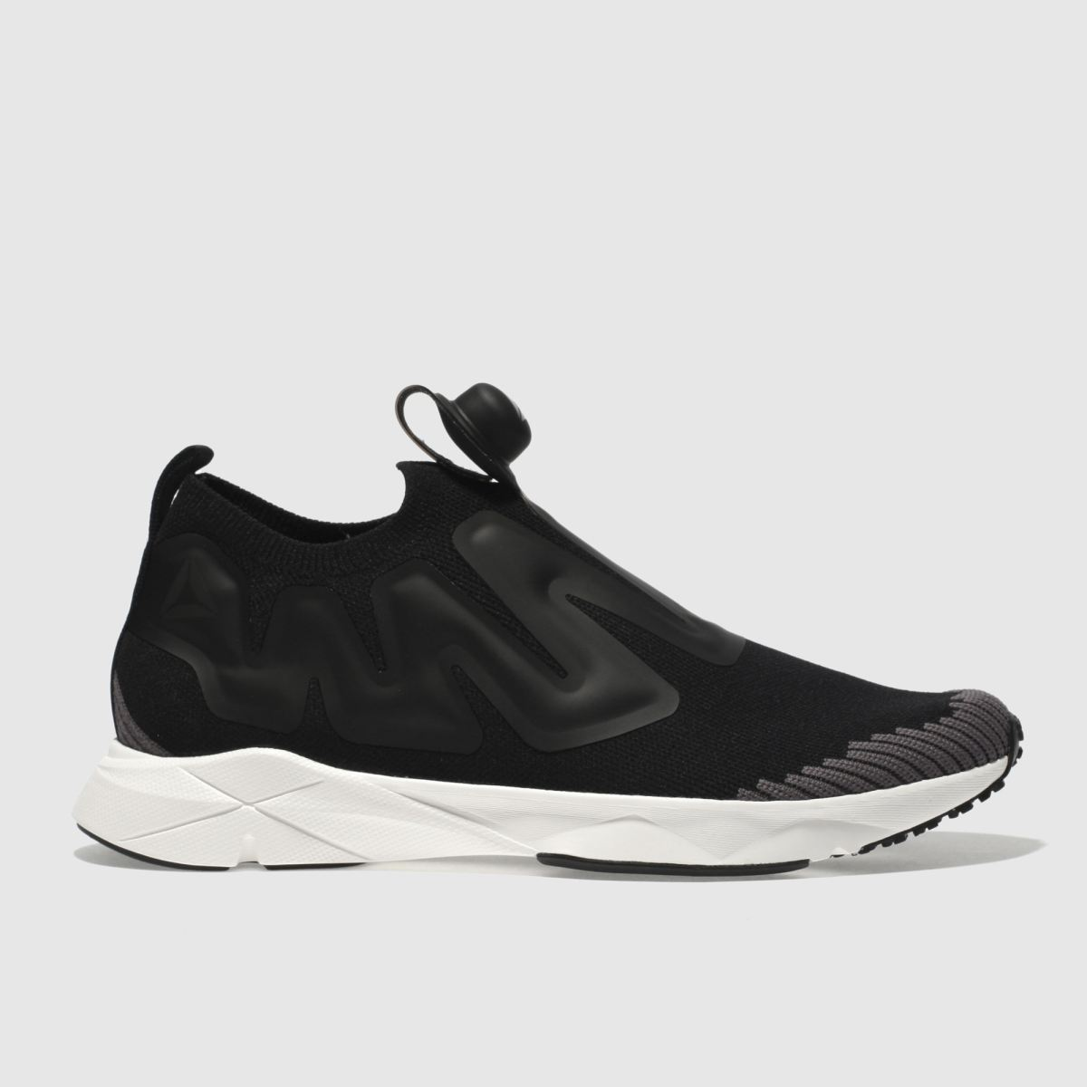 Reebok Black & Grey Pump Supreme Trainers