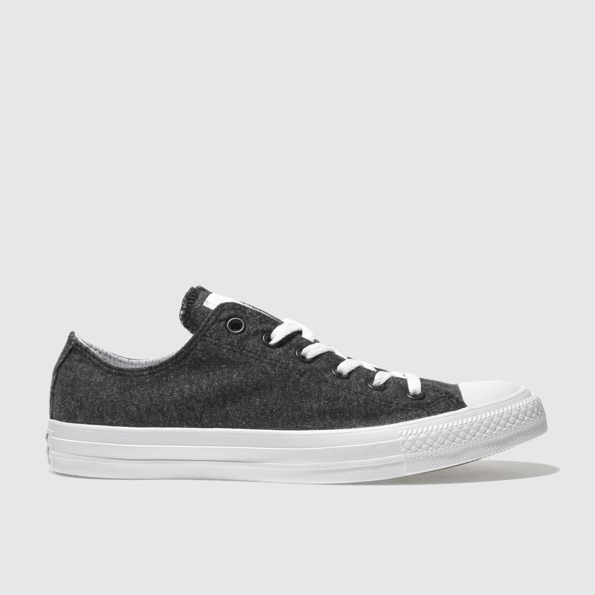 Converse Black Chuck Taylor All Star Ox Terry Trainers