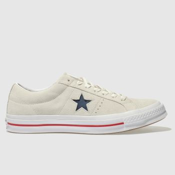 Converse Natural One Star Ox Mens Trainers
