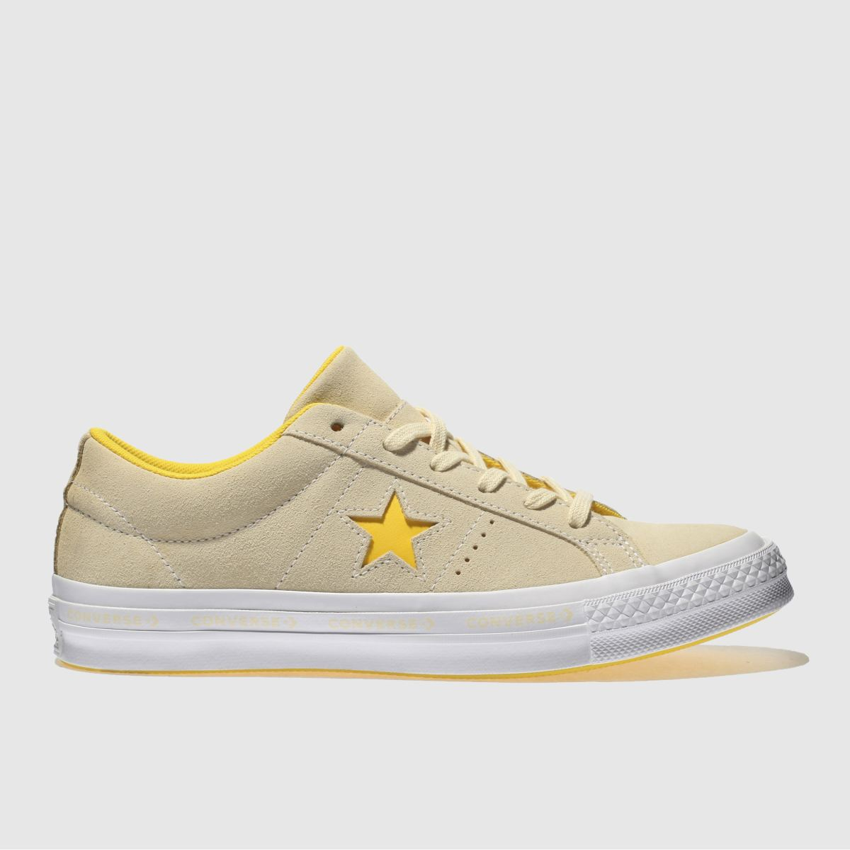 Converse Lemon One Star Ox Trainers