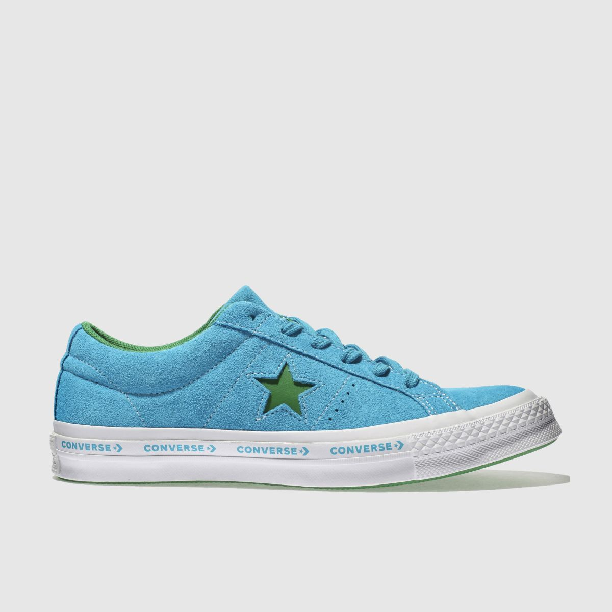 Converse Blue One Star Ox Trainers