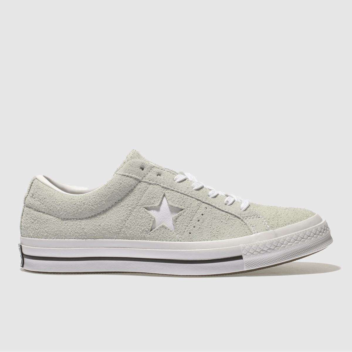 Converse Light Green One Star Ox Trainers