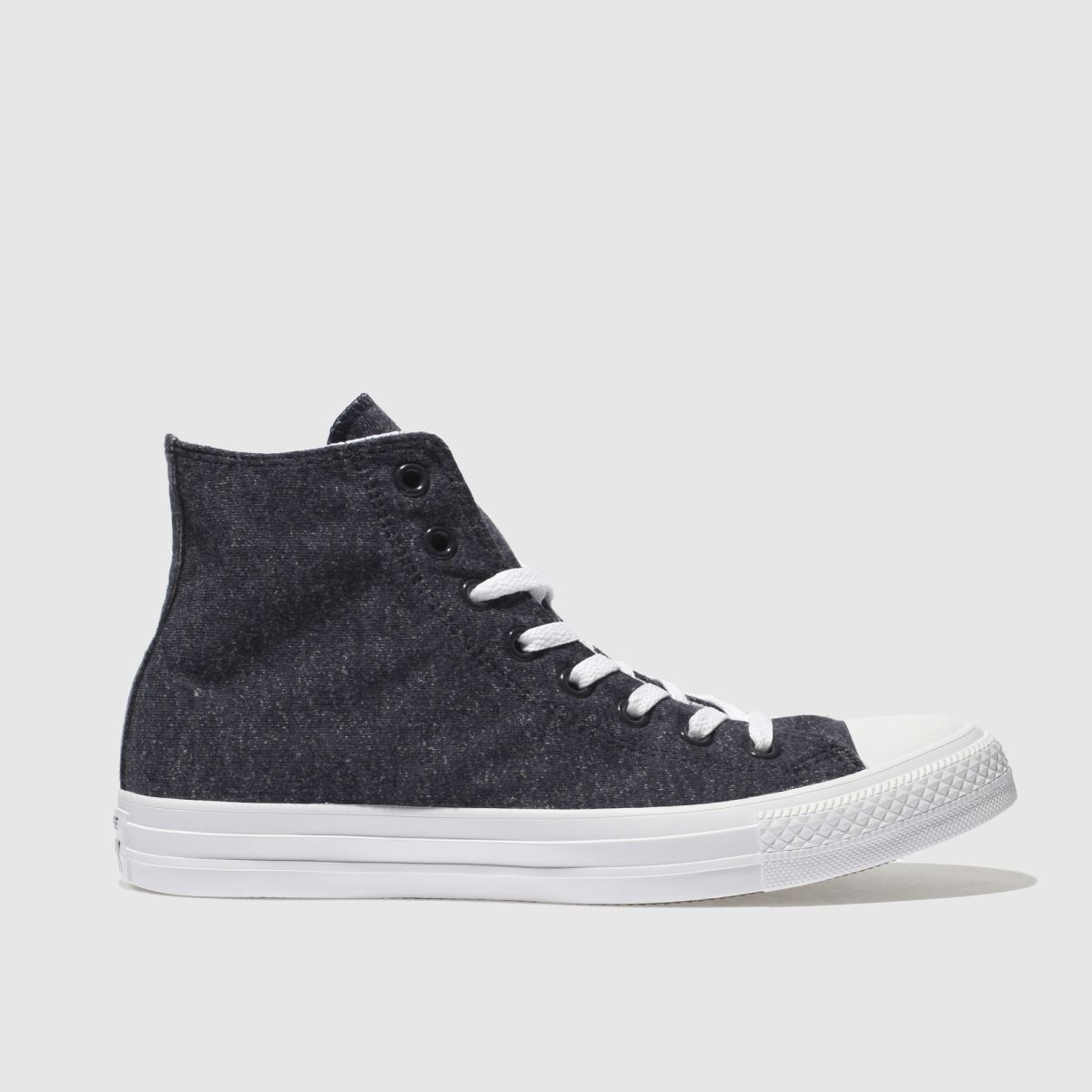 Converse Navy Chuck Taylor All Star Hi Terry Trainers