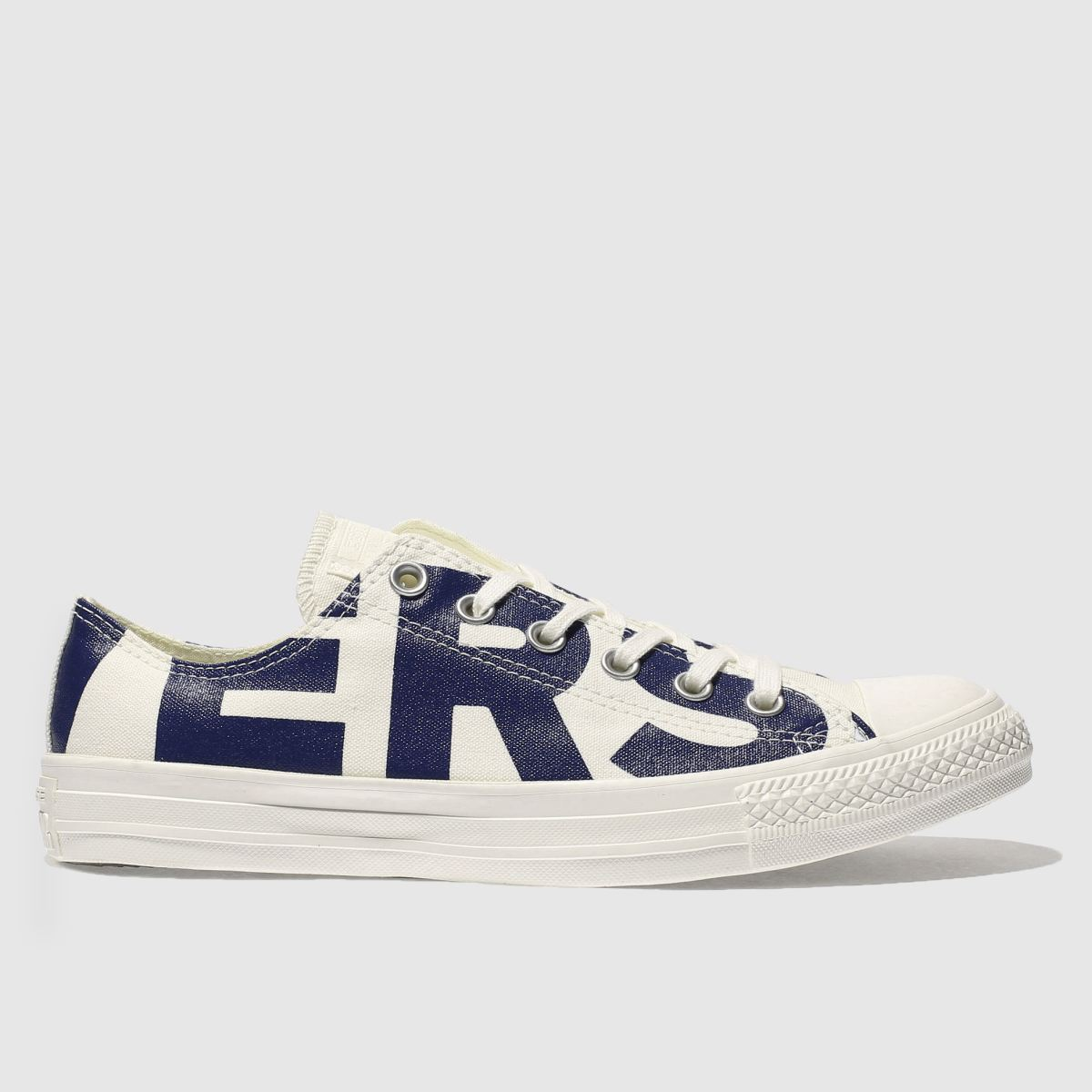 converse natural all star wordmark ox trainers