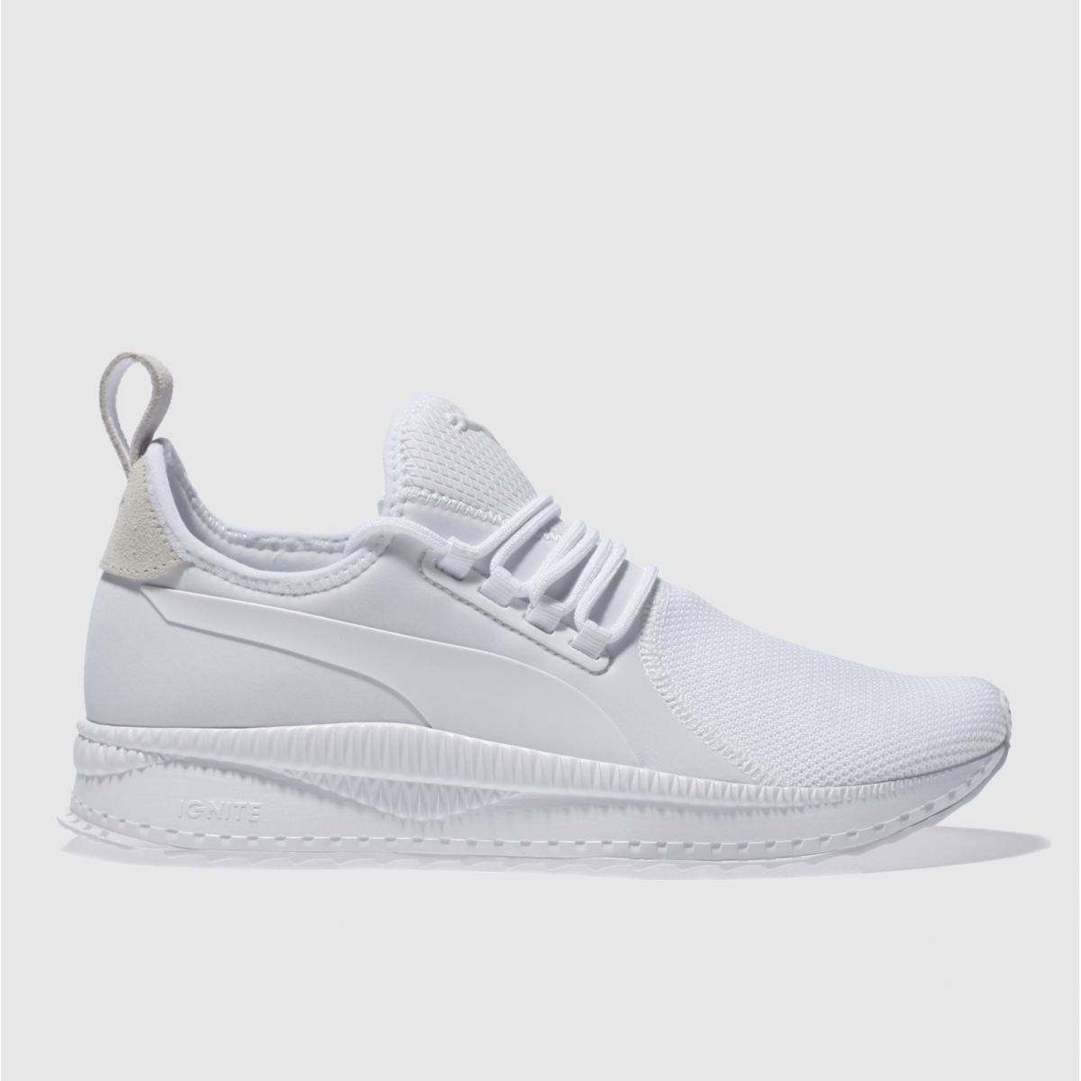 puma white tsugi apex trainers