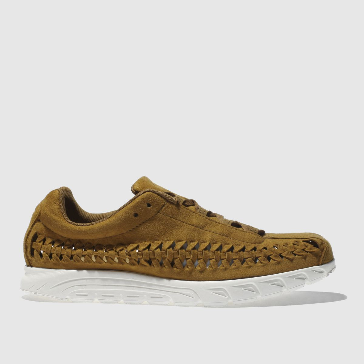Nike Tan Mayfly Woven Trainers