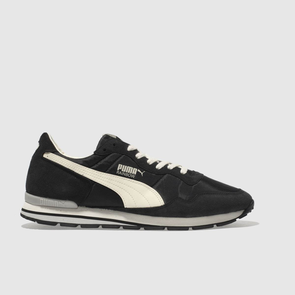 Puma Black & White Rainbow Sc Trainers