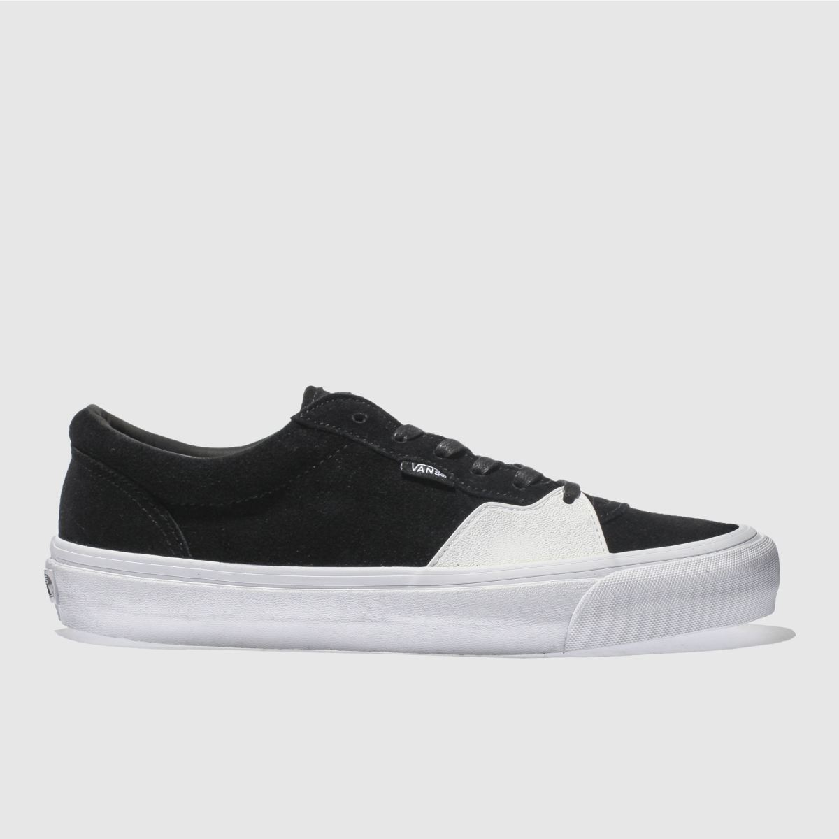 Vans Black & White Style 205 Trainers