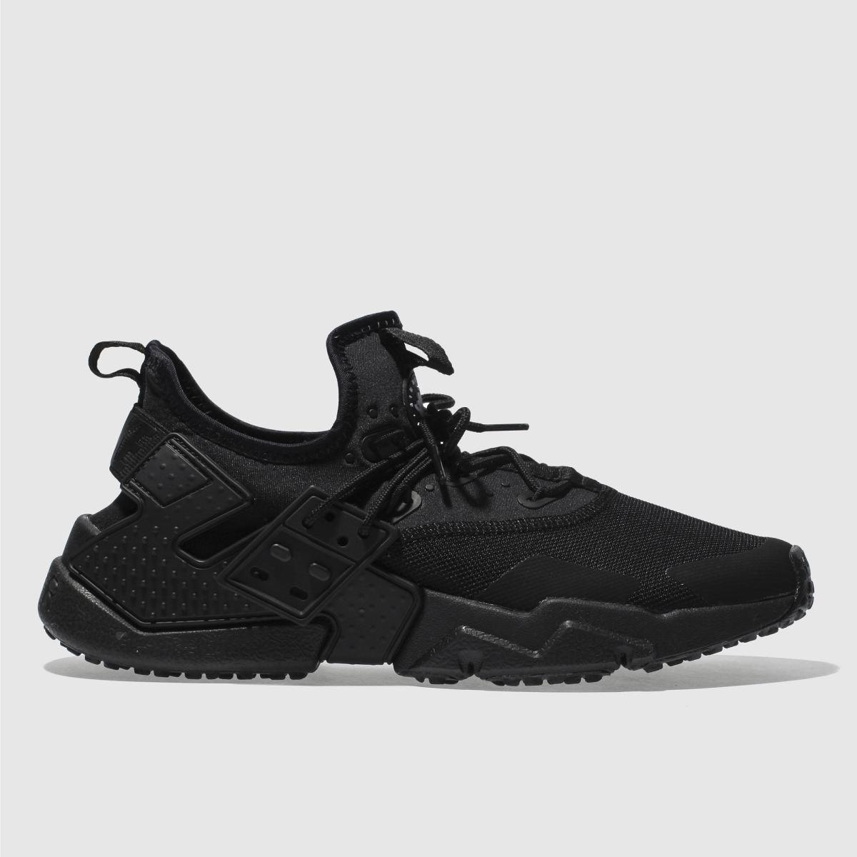 Nike Black Air Huarache Drift Trainers