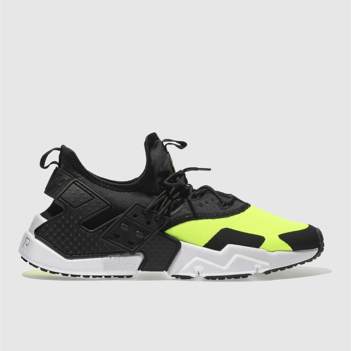Nike Black & White Air Huarache Drift Trainers