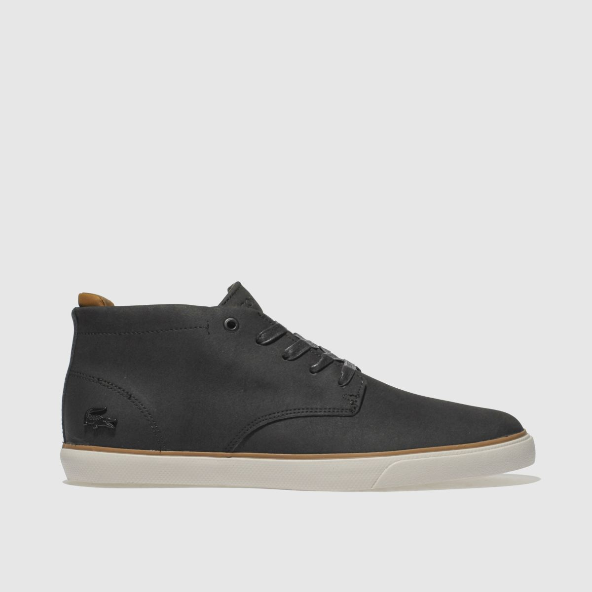Lacoste Black & White Esparre Chukka Trainers