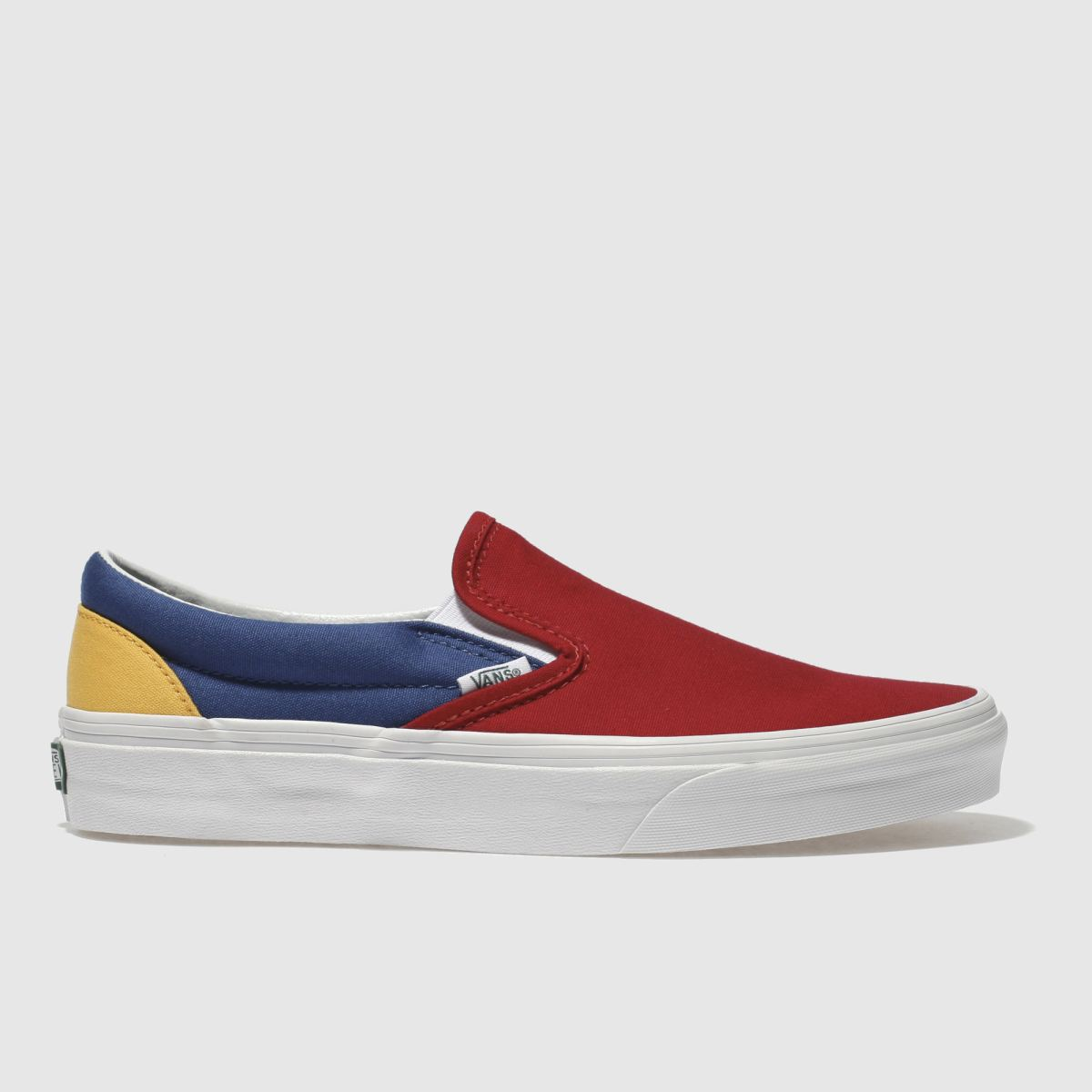Vans Navy & Red Classic Slip-on Trainers