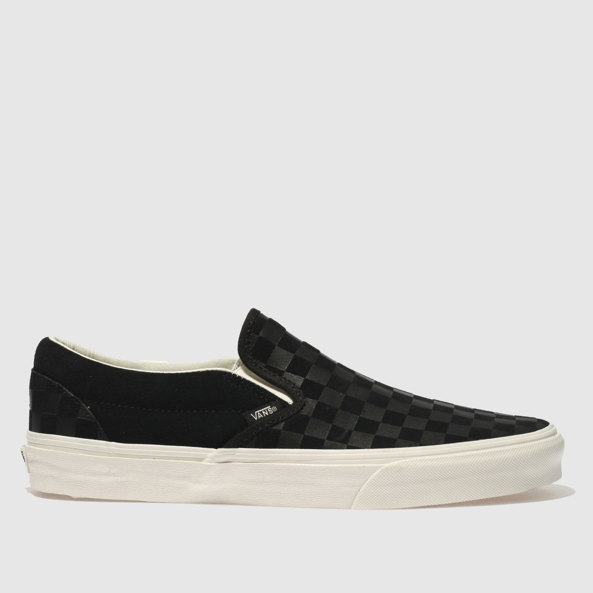 Vans Black Classic Slip-on Checker Trainers