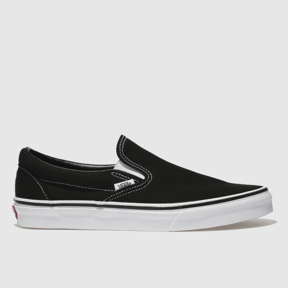 Vans Black & White Classic Slip-on Trainers