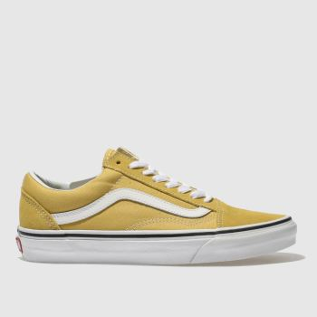 Vans Yellow Old Skool Mens Trainers