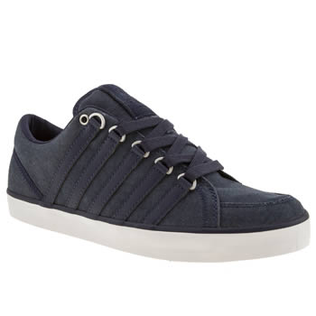 mens k-swiss navy gowmet ii trainers