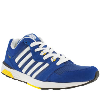 mens k-swiss blue si-18 rannell 2 trainers
