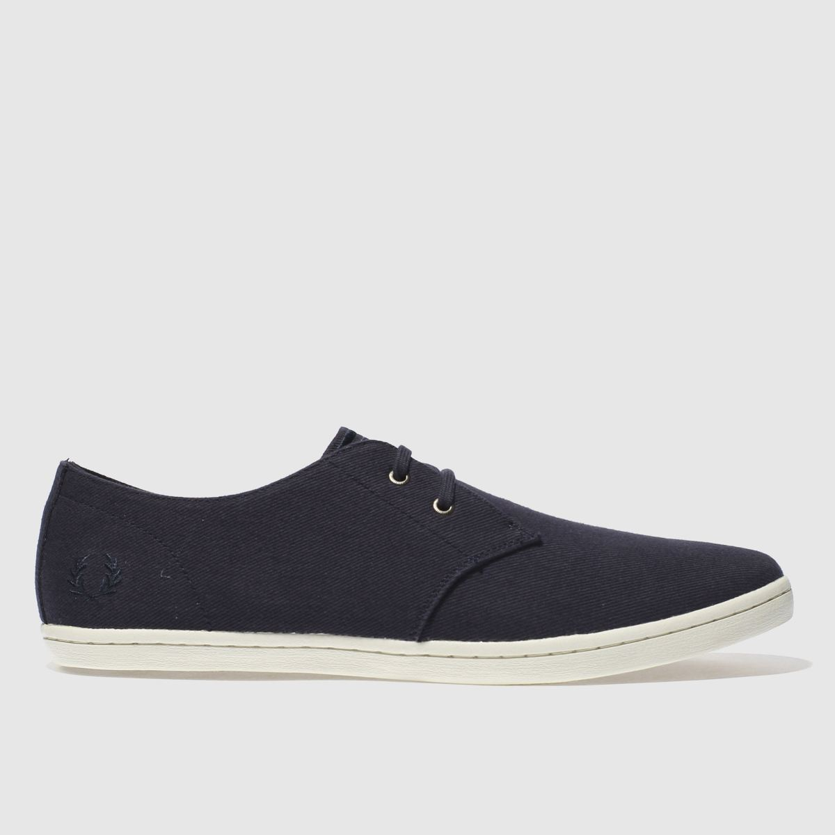 Fred Perry Navy Byron Low Two Tone Trainers