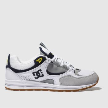 Dc Shoes White Kalis Lite Mens Trainers
