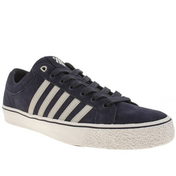 K-Swiss Navy & White Adcourt La Trainers