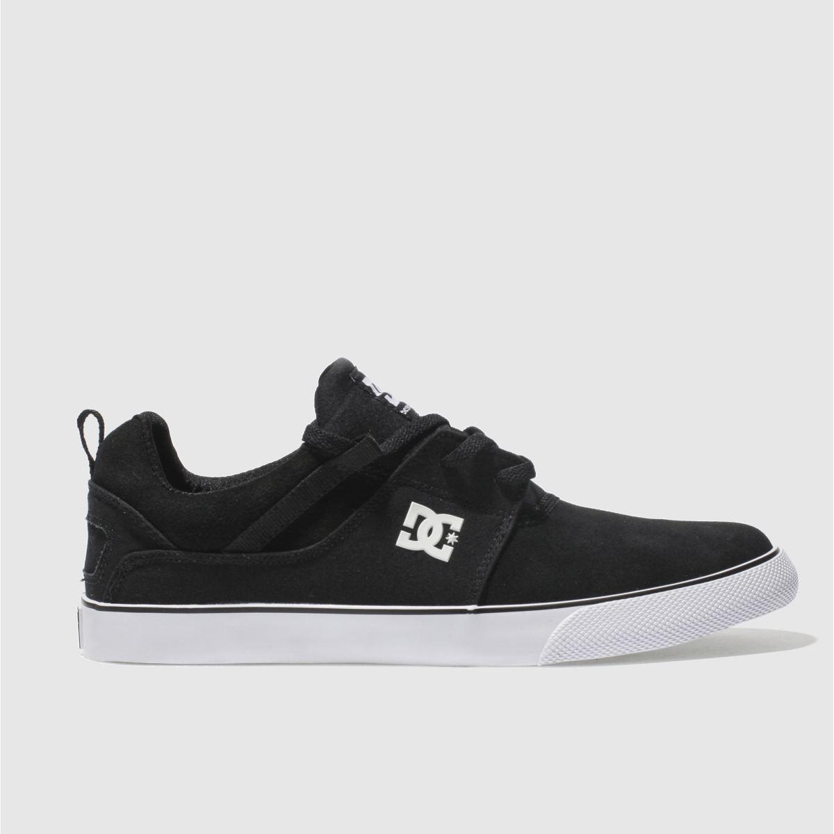 dc shoes Dc Shoes Black & White Heathrow Vulc Se Trainers