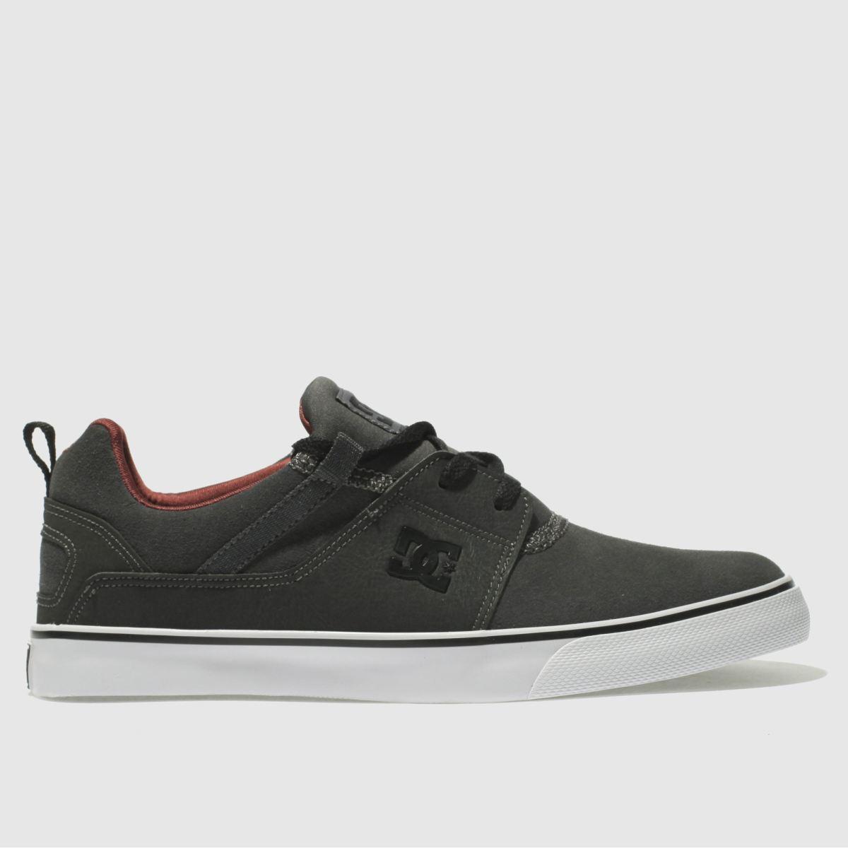 Dc Shoes Dark Grey Heathrow Vulc Se Trainers