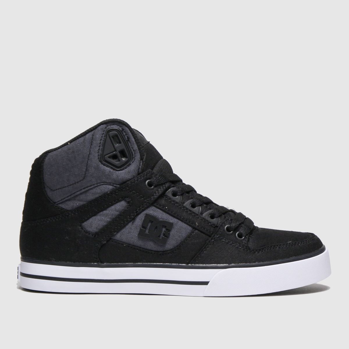 dc shoes Dc Shoes Black & Grey Pure High-top Wc Tx Se Trainers