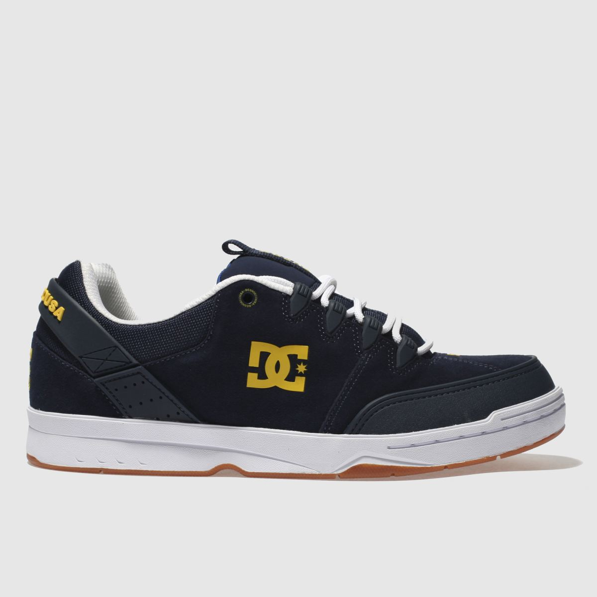 dc shoes Dc Shoes Navy & White Syntax Trainers