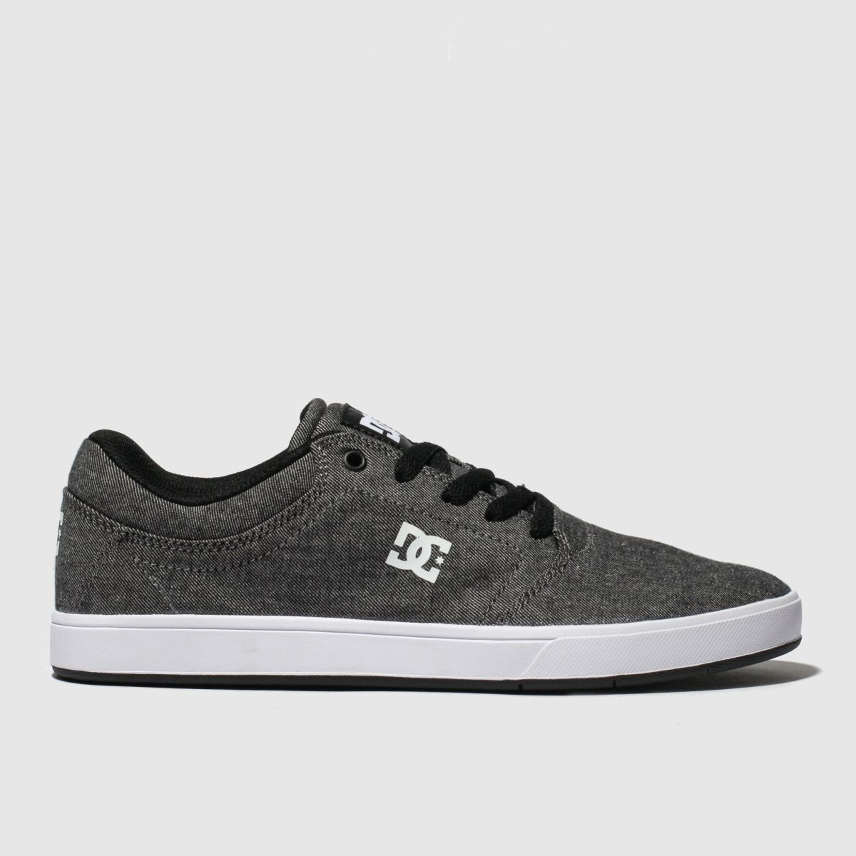 Dc Shoes Grey Crisis Trainers