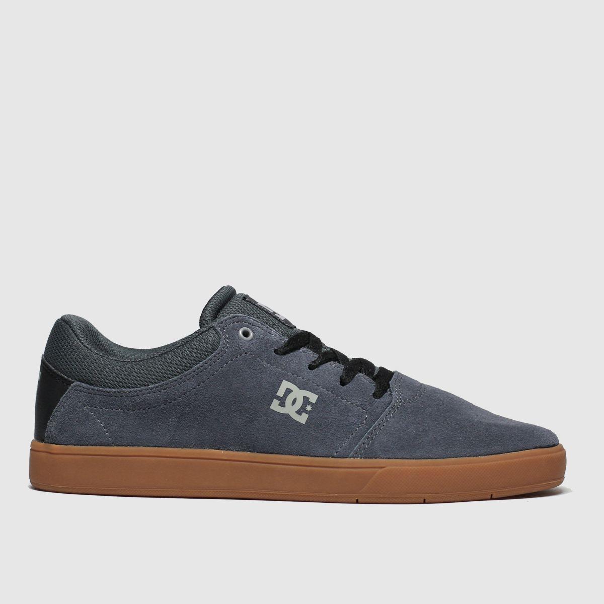 dc shoes Dc Shoes Dark Grey Crisis Trainers