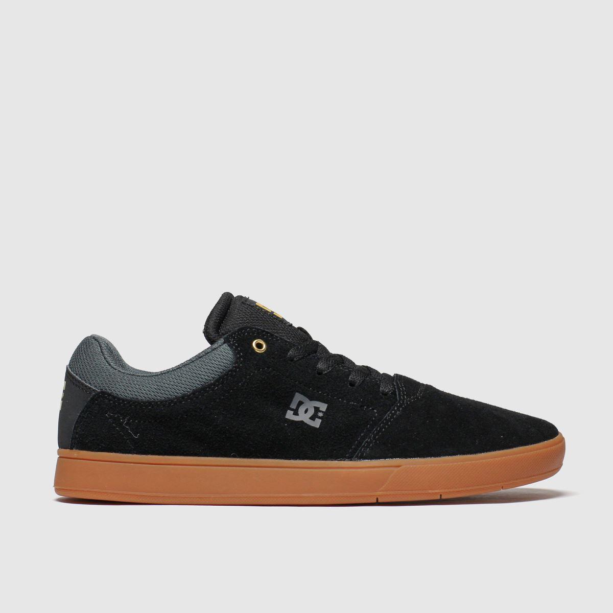 dc shoes Dc Shoes Black & Brown Crisis Trainers