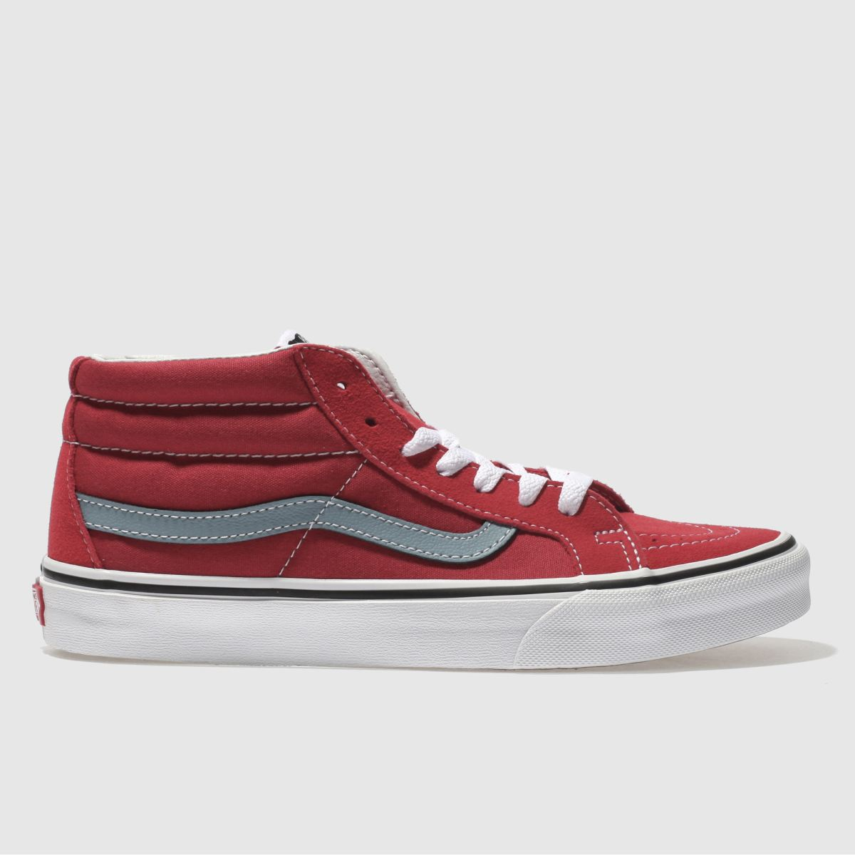Vans Red Sk8-mid Reissue Trainers