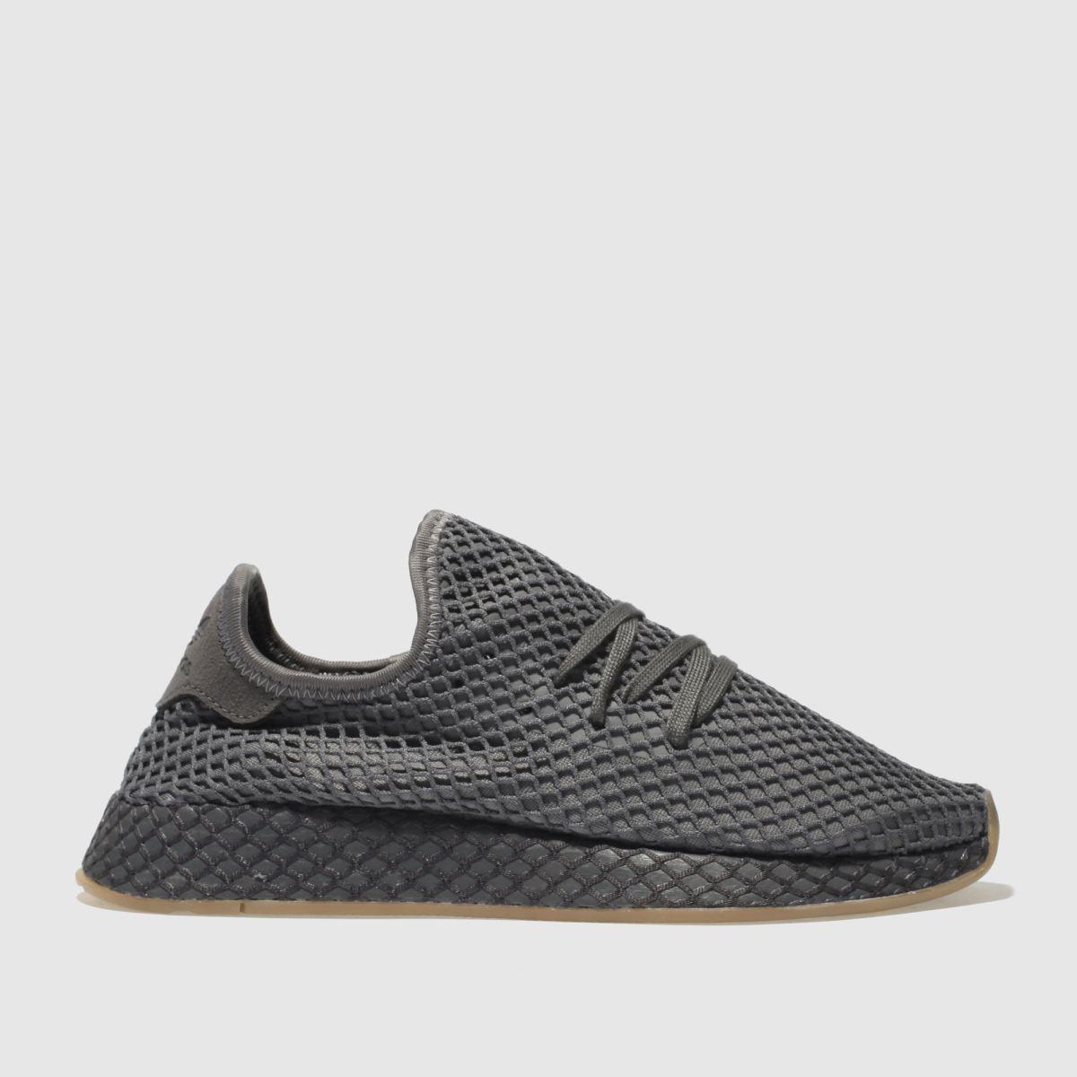Adidas Dark Grey Deerupt Runner Trainers