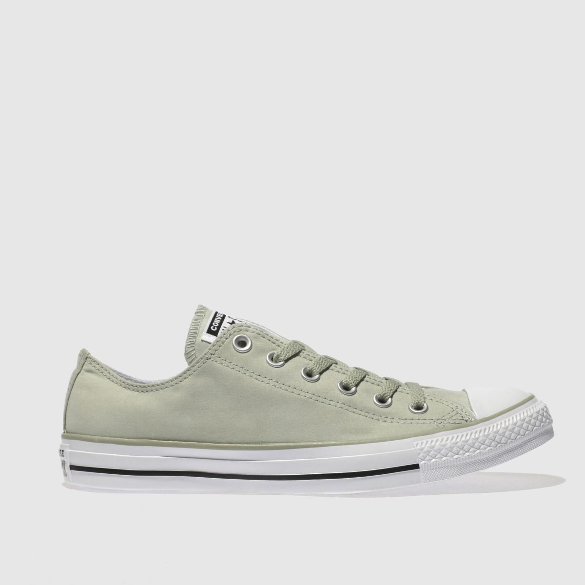 Converse Light Green All Star Peach Canvas Ox Trainers