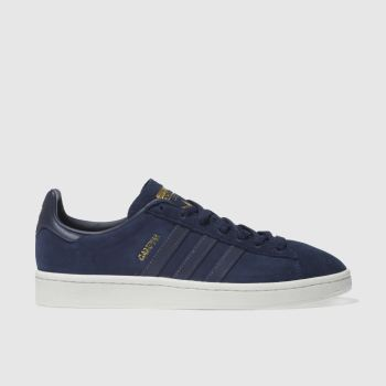 Adidas Navy Campus Mens Trainers