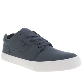 Dc Shoes Navy Tonik Tx Trainers