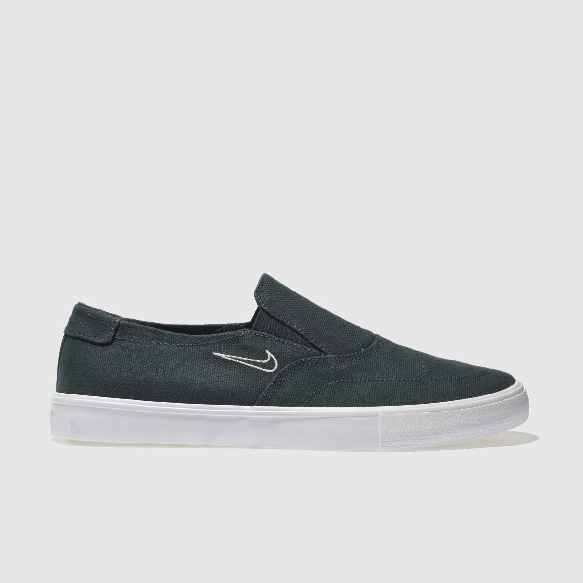 Nike SB Nike Sb Dark Green Portmore Ii Slip Trainers