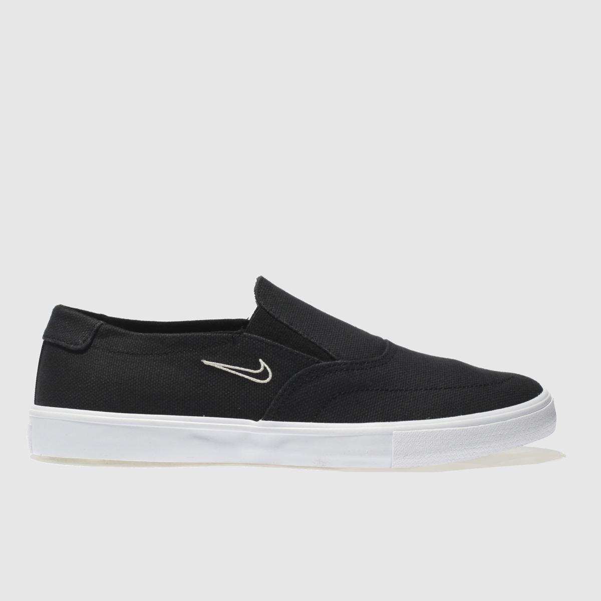 Nike SB Nike Sb Black Portmore Ii Slip Trainers