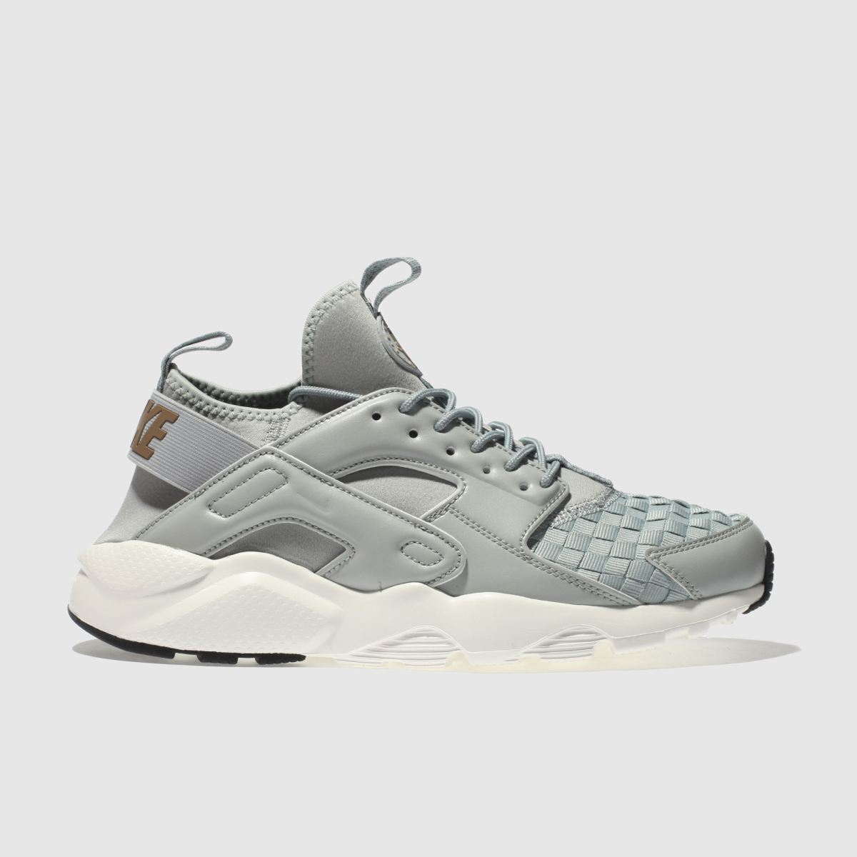 Nike Light Grey Air Huarache Run Ultra Se Trainers